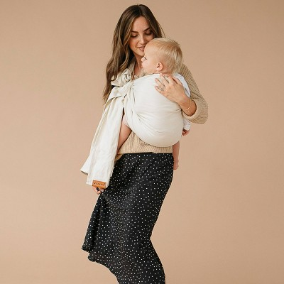 WildBird Ring Sling Baby Carrier - Sparrow/Rose Gold Ring