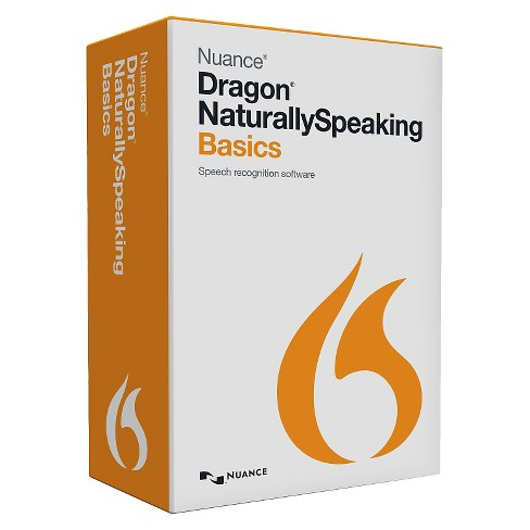 Nuance Dragon Naturally Speaking Basics 13 PC Software - image 1 of 1