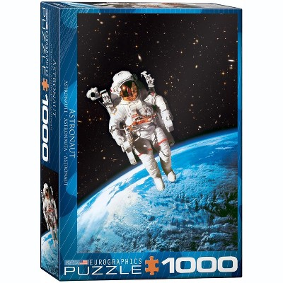 Eurographics Inc. Astronaut 1000 Piece Jigsaw Puzzle