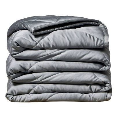 """50""""x60"""" 10lbs Bamboo Weighted Throw Blanket - Rejuve"""