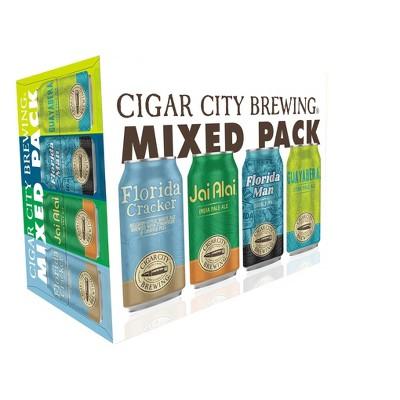 Cigar City Brewing Mixed Variety Pack - 12pk/12 fl oz Cans