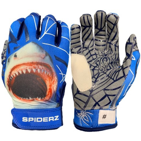 Spiderz Hybrid Dark Waters Adult Baseball/Softball Batting Gloves - image 1 of 1