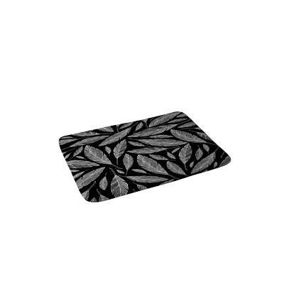 Heather Dutton Float Black Bath Mat Black - Deny Designs
