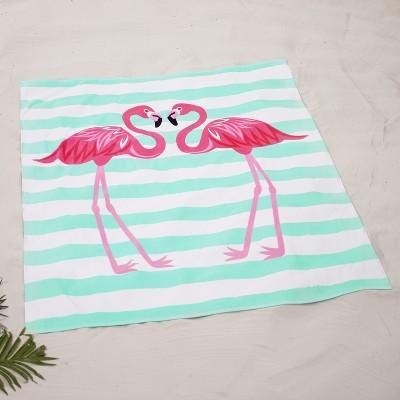 "Lakeside Oversized 54"" x 68"" Jumbo Beach Towel for Swimming - Flamingos"