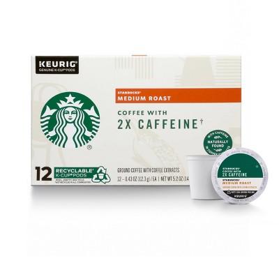 Starbucks KCup Cafe Medium Roast 12ct - 5.2oz