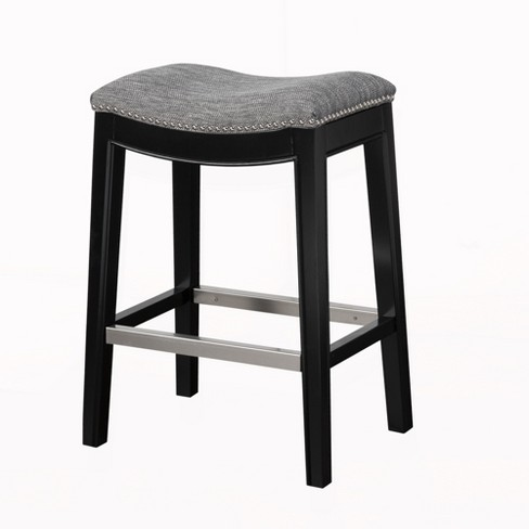 "Westly Saddle Counter Stool - Gray (27"") - image 1 of 6"
