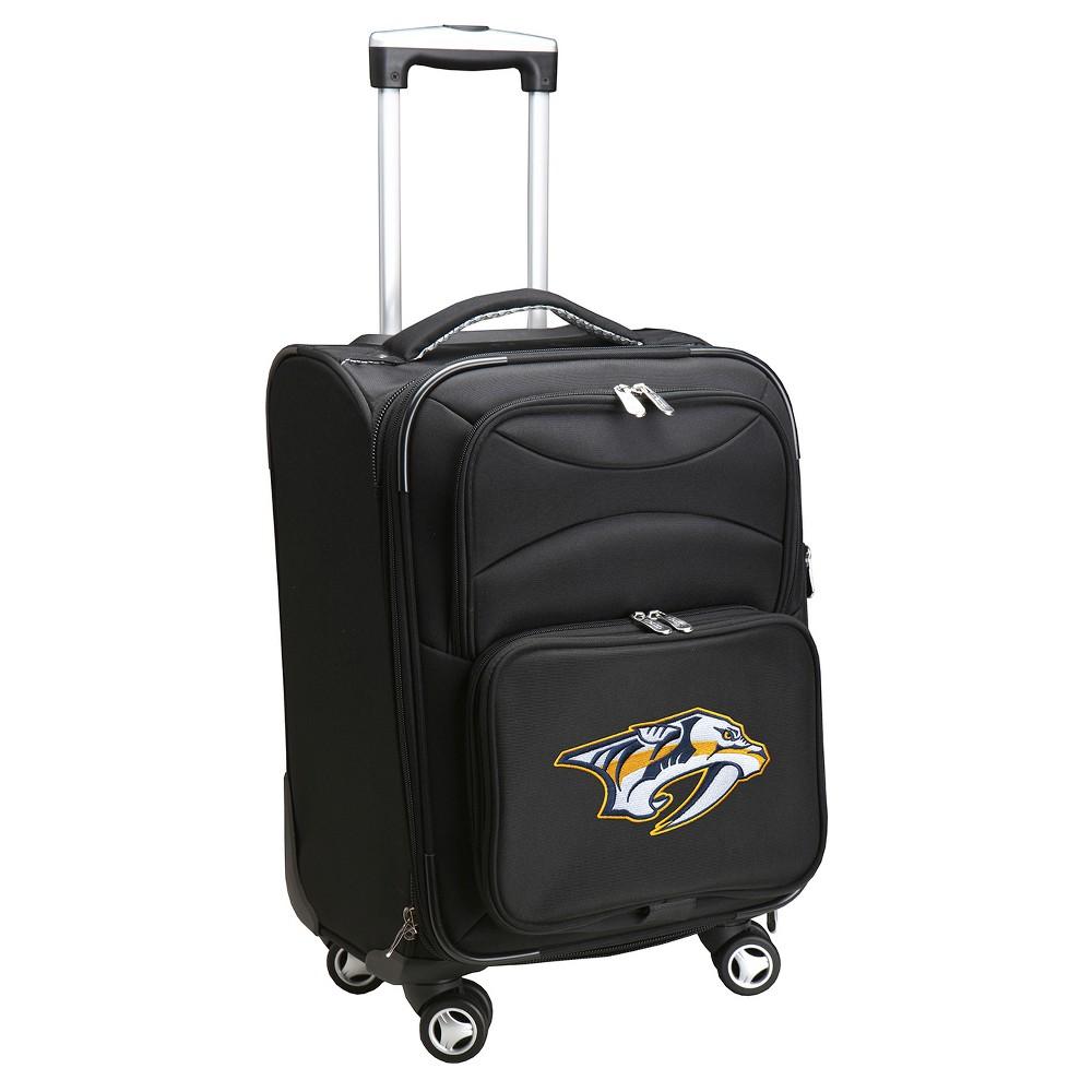 NHL Nashville Predators Mojo Spinner Carry On Suitcase