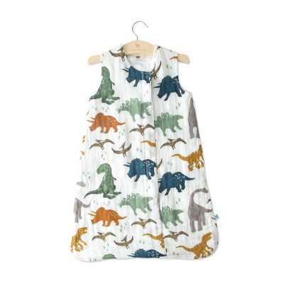 Little Unicorn Cotton Muslin Sleep Bag Dino Friends - SM