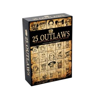 25 Outlaws Game Board Game