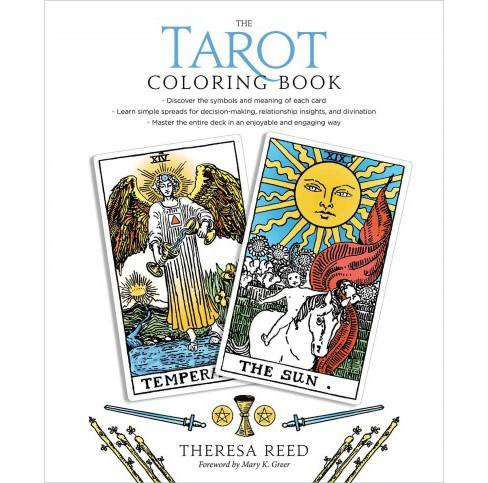 Tarot Coloring Book (Paperback) (Theresa Reed). - image 1 of 1