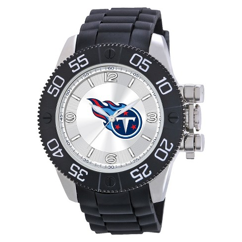 Men's Game Time Tennessee Titans Beast Series Watch - Black - image 1 of 1