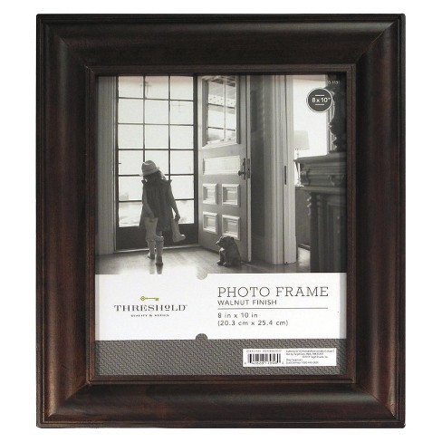 "8""x10"" Wood Mantel Frame Stained Walnut - Threshold™ - image 1 of 5"