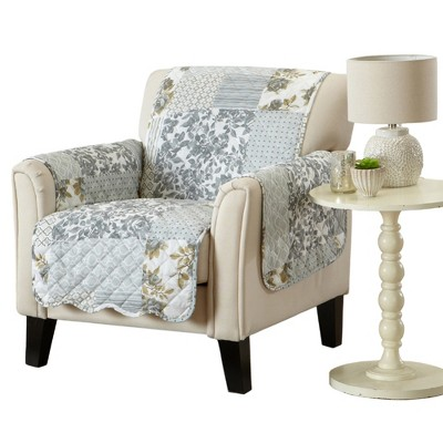 Great Bay Home Patchwork Chair Furniture Protector