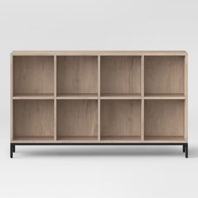 60 loring 8 cube bookcase vintage oak project 62 target rh target com