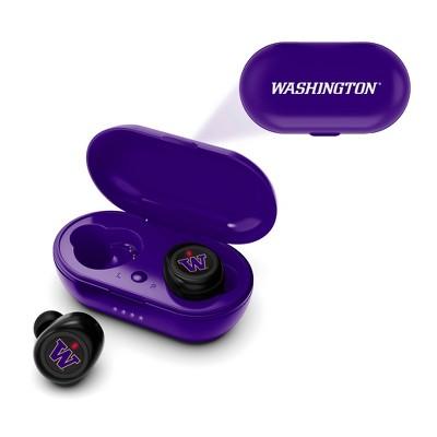 NCAA Washington Huskies True Wireless Bluetooth Earbuds