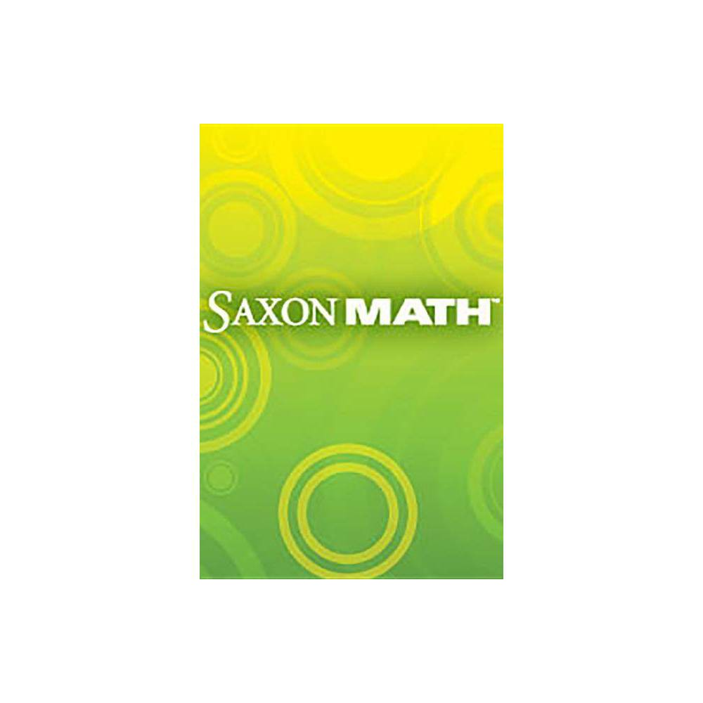 Saxon Math 1 Texas - by Larson (Hardcover)