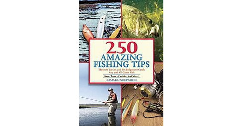 250 Amazing Fishing Tips : The Best Tactics and Techniques to Catch Any and All Game Fish (Paperback) - image 1 of 1