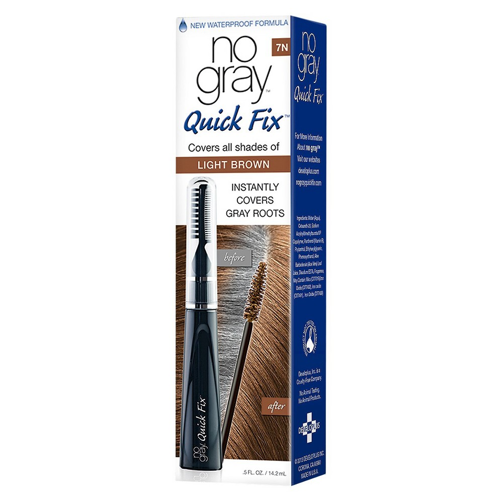 Image of no gray Quick Fix Color Touch-up Systems - Light Brown - 0.5 fl oz