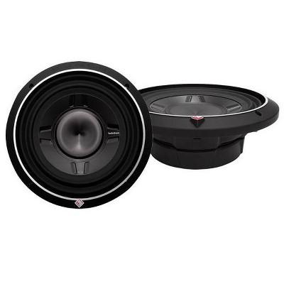 "Rockford Fosgate 10"" 1200 Watt Car Audio Shallow Subwoofers - P3SD4-10 - 2 Pack"