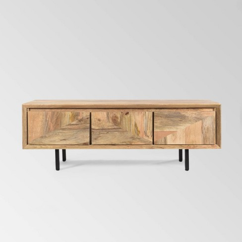 54 Girard Boho Mango Wood Tv Stand Tan Christopher Knight Home Target Shop target for tv stands and entertainment centers in a variety of sizes, shapes and materials. 54 girard boho mango wood tv stand tan christopher knight home