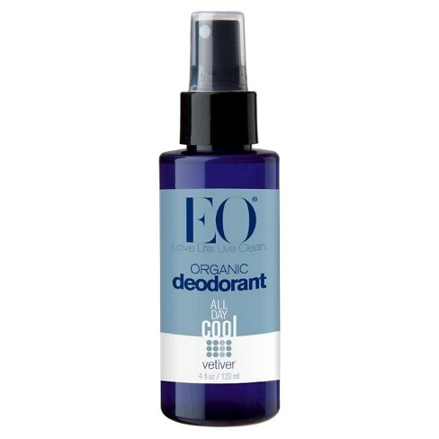 EO Organic Vetiver Deodorant Spray - 4.0 fl oz - image 1 of 1