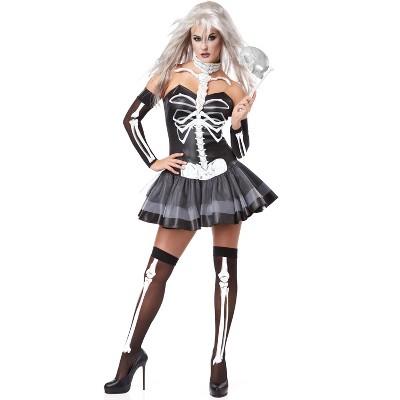 California Costumes Skeleton Masquerade Adult Costume