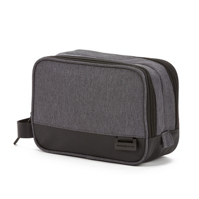 SWISSGEAR Heather Grey Toiletry Bag