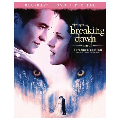 The Twilight Saga: Breaking Dawn - Part 1 (Blu-ray + DVD + Digital)