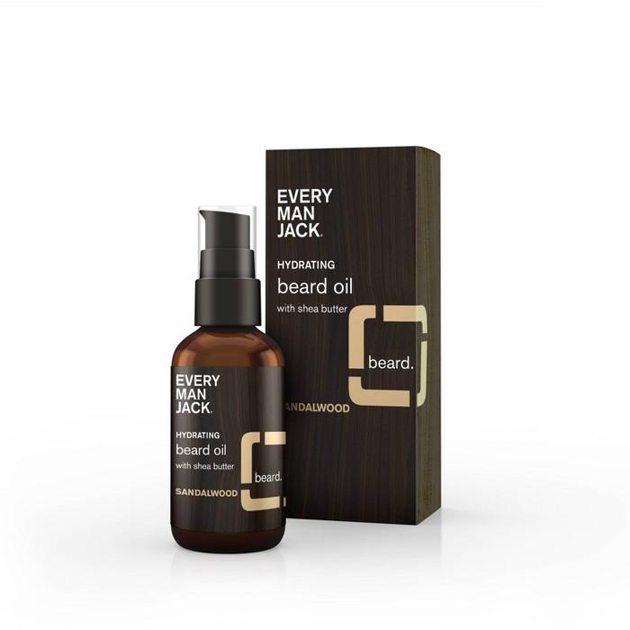 Every Man Jack Beard Oil Sandalwood 1.0 fl oz - image 1 of 3