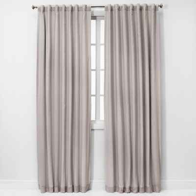 84 x50  Blackout Window Curtain Panel Gray - Threshold™