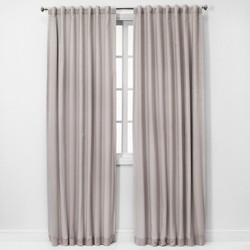 Voile Overlay Blackout Curtain Panel - Threshold™