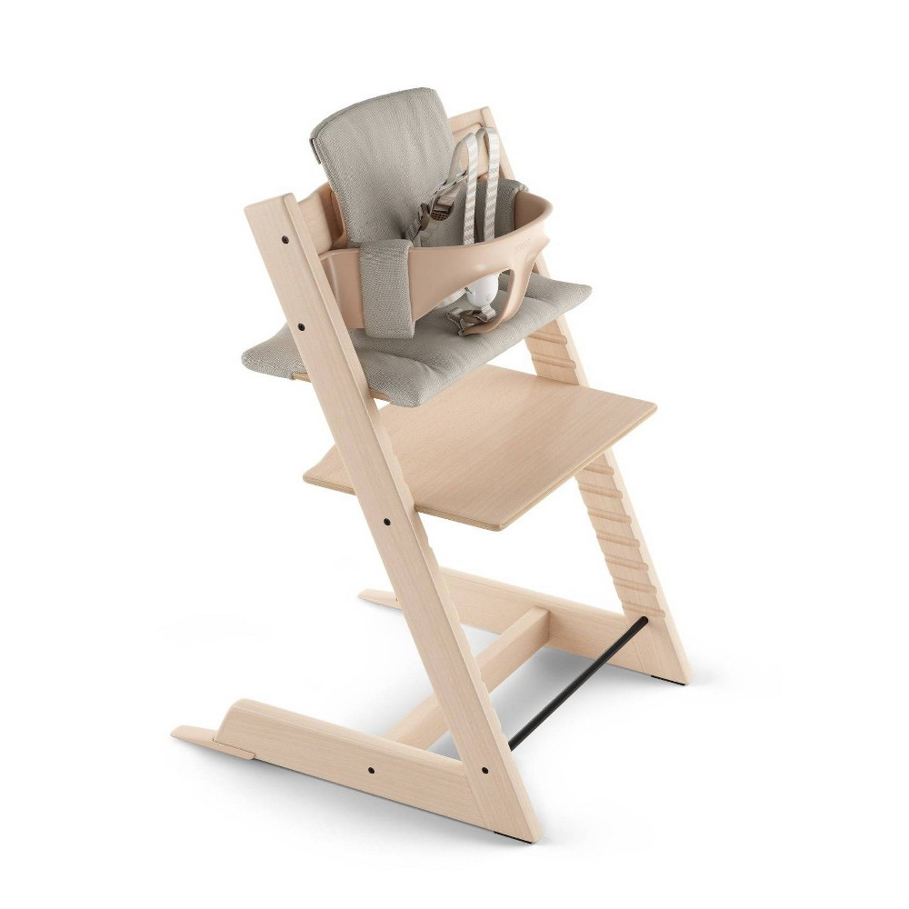 Image of Stokke Tripp Trapp High Chair Cushion - Timeless Gray