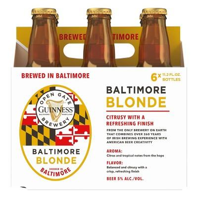 Guinness Blonde Beer - 6pk/11.2 fl oz Bottles