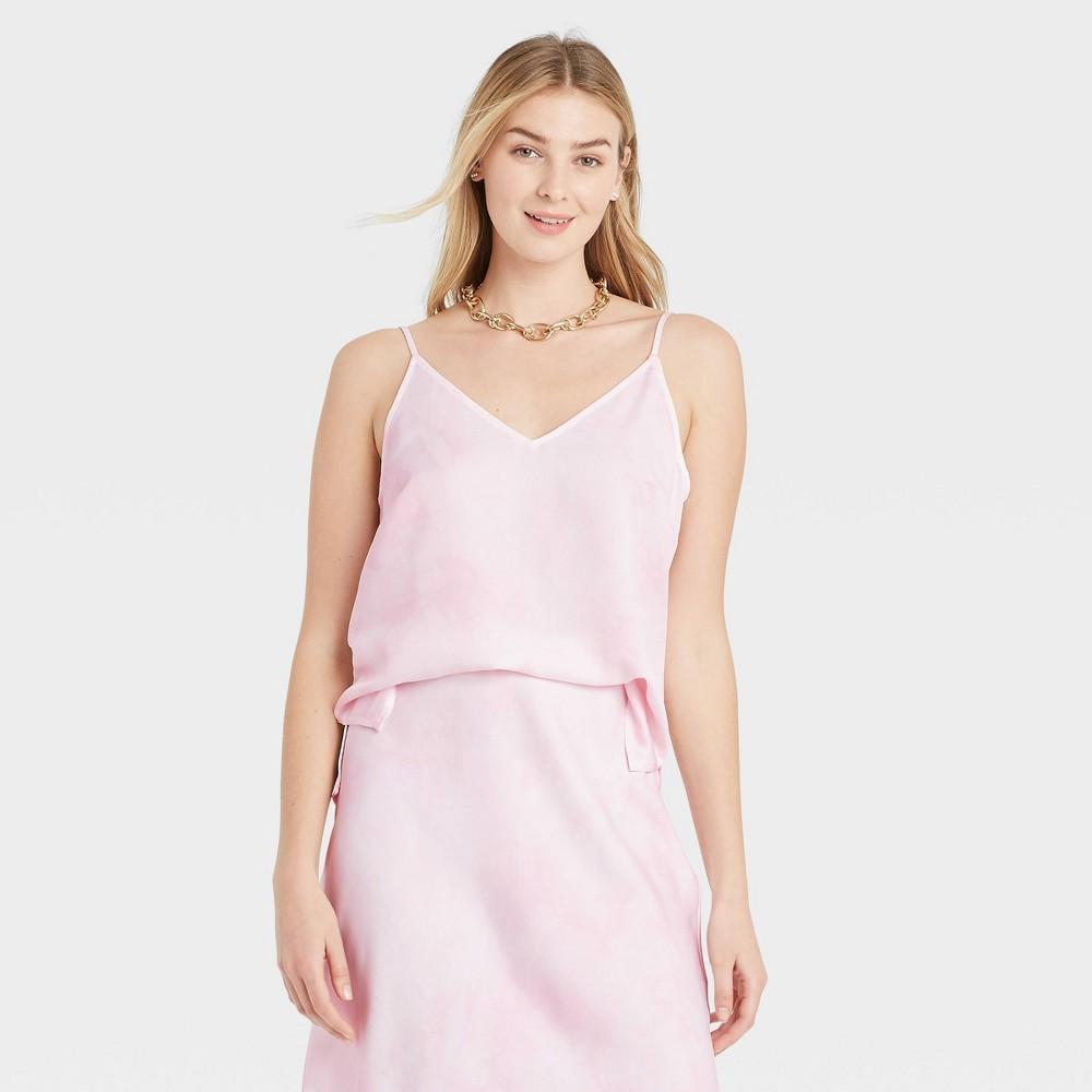 Women 39 S Dip Dye Woven Cami A New Day 8482 Light Pink Xs