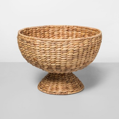 13.8  x 9.6  Water Hyacinth Woven Bowl Natural - Opalhouse™