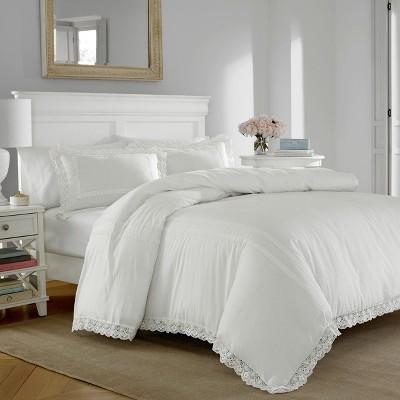 Laura Ashley Annabella Comforter Set White