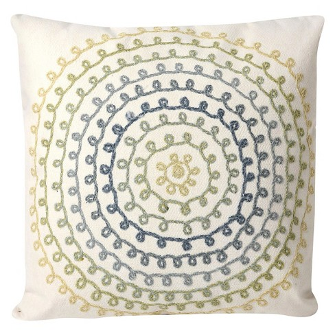 Oversize Ombre Threads Indoor/Outdoor Throw Pillow - Liora Manne - image 1 of 2