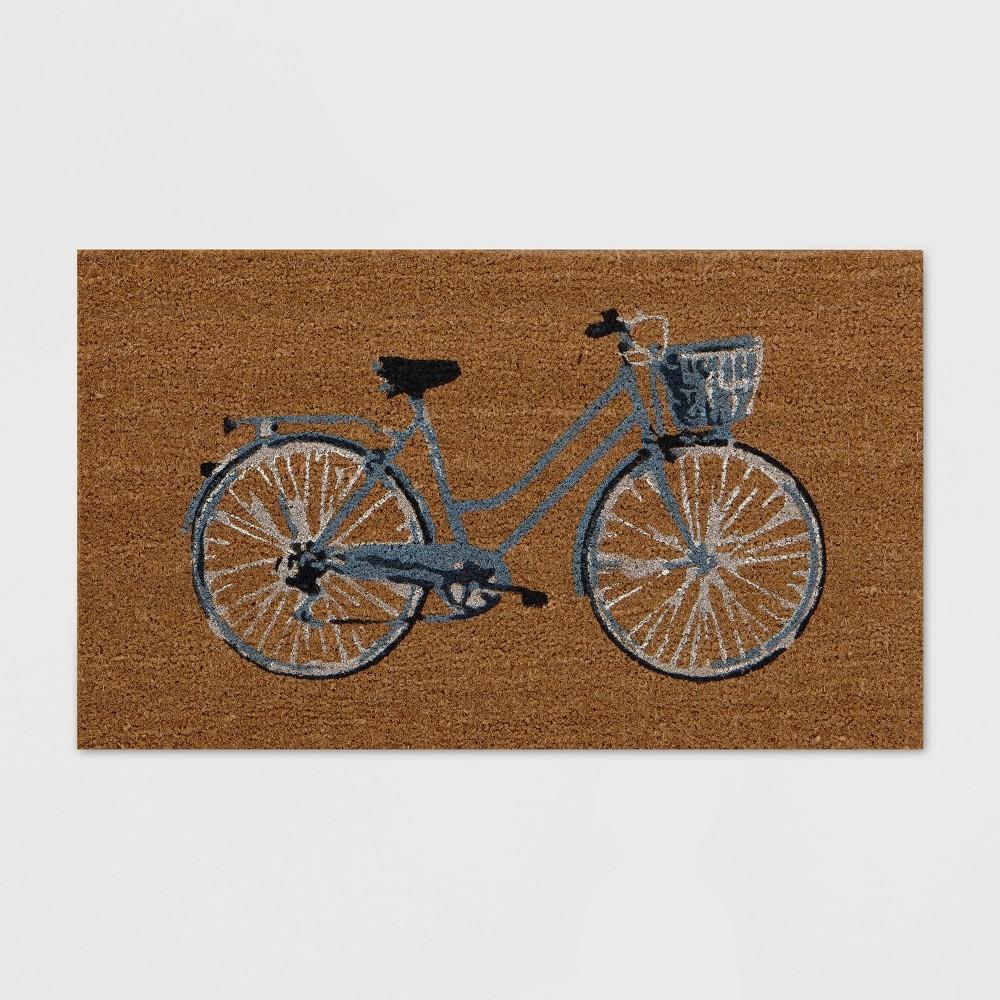 x 30in Bicycle Outdoor Doormat
