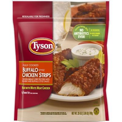 Tyson Buffalo Style Chicken Strips - Frozen - 25oz