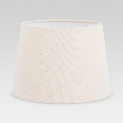 Metallic Linen Lamp Shade Silver - Threshold™