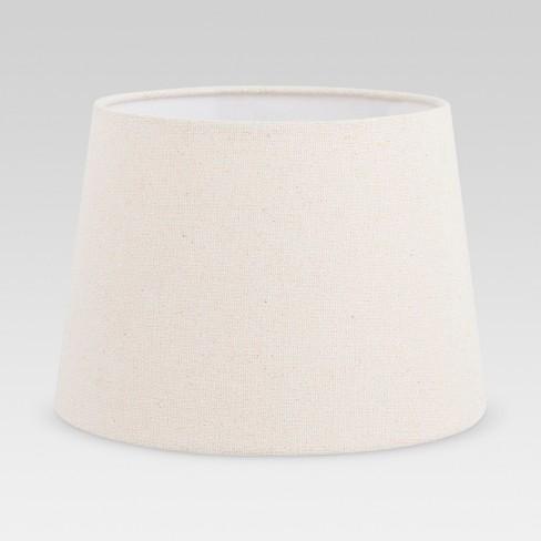 Metallic Linen Lamp Shade Ivory - Threshold™ - image 1 of 2
