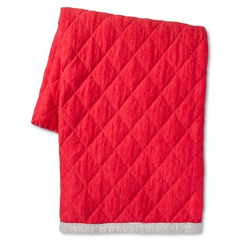 "Red Throw (50""X60"") - Room Essentials™ - image 1 of 1"