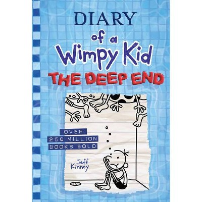 The Deep End (Diary of a Wimpy Kid Book 15) - by Jeff Kinney (Hardcover)