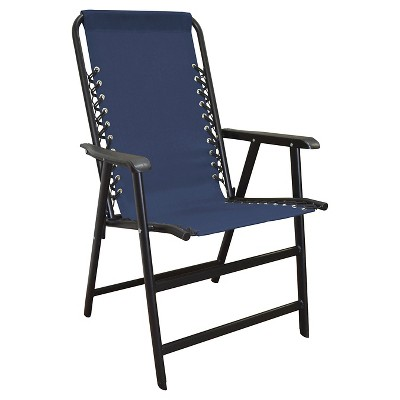 Caravan Global Suspension Folding Chair - Blue