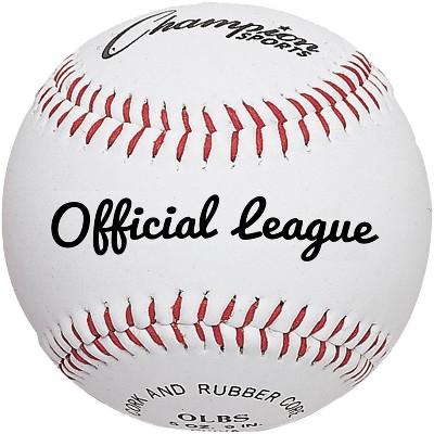 Champion Official League Baseball, pk of 12
