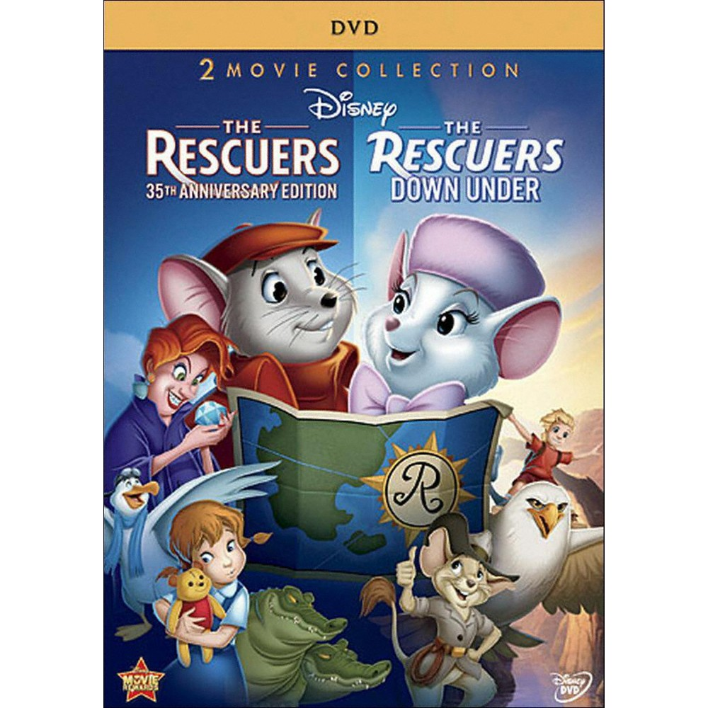 The Rescuers: 35th Anniversary Edition/The Rescuers Down Under [2 Discs]