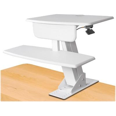 "Kantek Desk Sit-To-Stand Workstation 26-3/4""x24-1/2""x22"" White STS800W"
