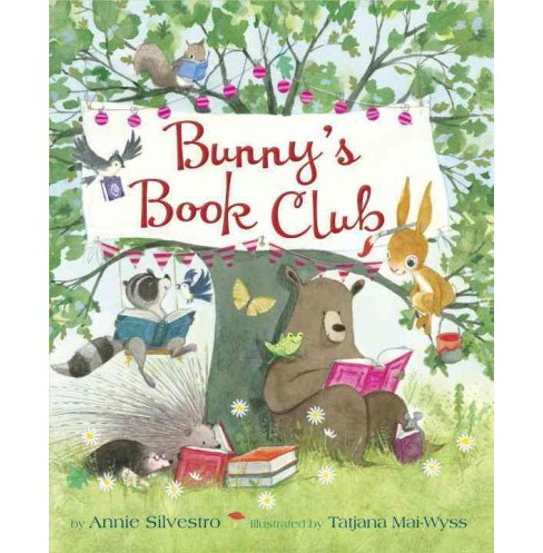 Bunny's Book Club (Hardcover) (Annie Silvestro) - image 1 of 1