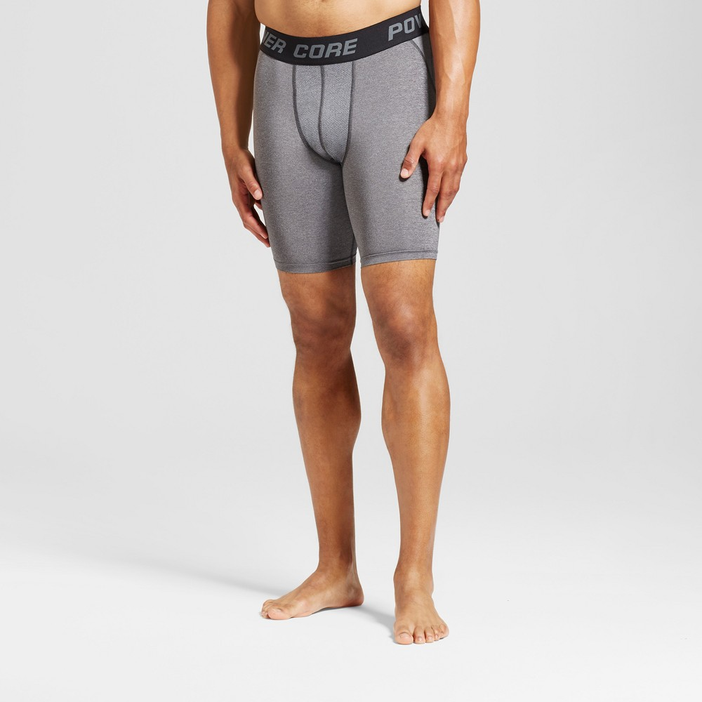 Men's 9 Compression Shorts - C9 Champion Charcoal Heather M