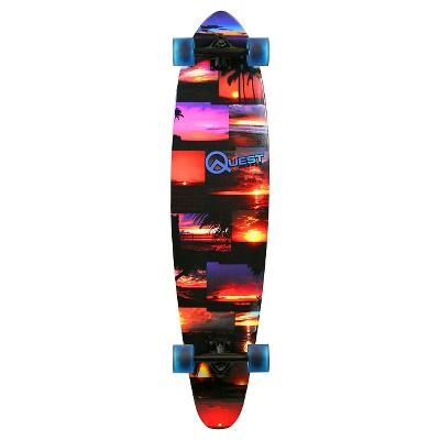 """Quest 42"""" Pintail Longboard Skateboard"""